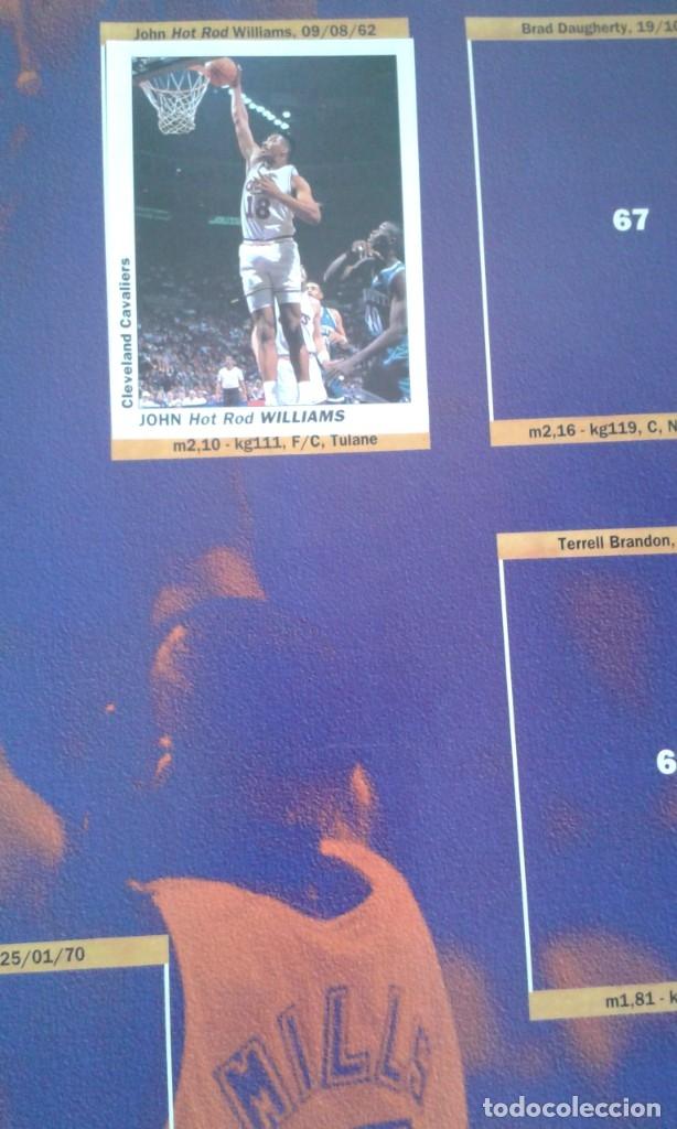 Coleccionismo deportivo: ALBUM BASKETBALL USA 94 95 INCOMPLETO 23 CROMOS - Foto 4 - 178654097