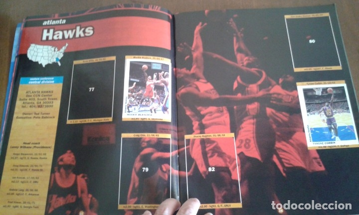 Coleccionismo deportivo: ALBUM BASKETBALL USA 94 95 INCOMPLETO 23 CROMOS - Foto 5 - 178654097