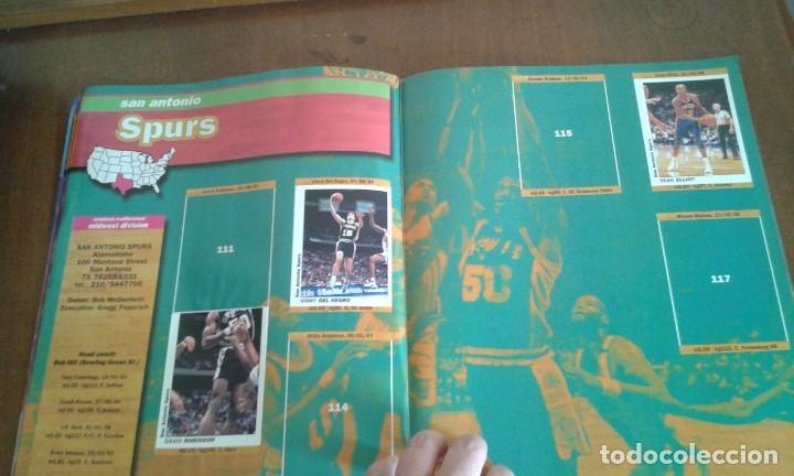 Coleccionismo deportivo: ALBUM BASKETBALL USA 94 95 INCOMPLETO 23 CROMOS - Foto 7 - 178654097