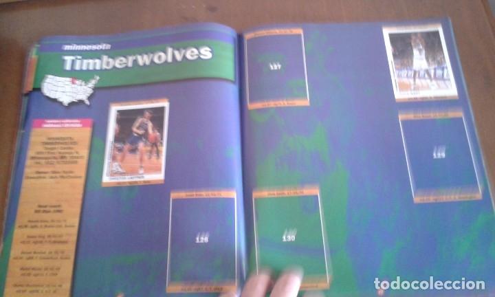 Coleccionismo deportivo: ALBUM BASKETBALL USA 94 95 INCOMPLETO 23 CROMOS - Foto 8 - 178654097