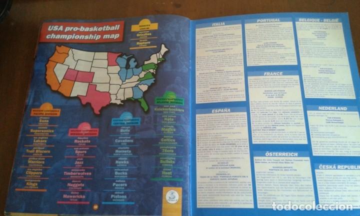Coleccionismo deportivo: ALBUM BASKETBALL USA 94 95 INCOMPLETO 23 CROMOS - Foto 13 - 178654097