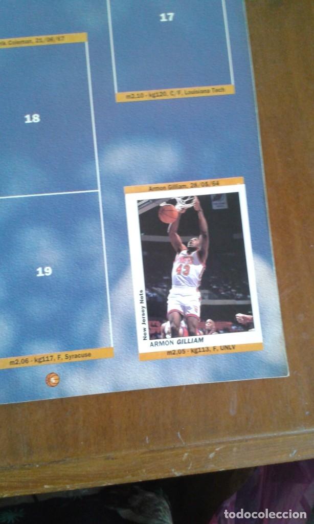 Coleccionismo deportivo: ALBUM BASKETBALL USA 94 95 INCOMPLETO 23 CROMOS - Foto 14 - 178654097