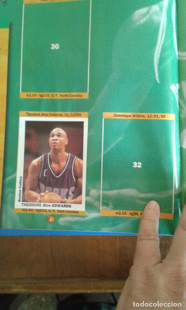 Coleccionismo deportivo: ALBUM BASKETBALL USA 94 95 INCOMPLETO 23 CROMOS - Foto 15 - 178654097