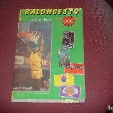 Coleccionismo deportivo: BALONCESTO ALBUM MERCHANTE LIGA 88 BASKET 87-88 COMPLETO. Lote 179006125