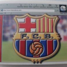 Coleccionismo deportivo: EDICIONES ESTE 2001 2002 ESCUDO FC BARCELONA NUEVO DE SOBRE. Lote 179180806