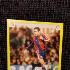 Coleccionismo deportivo: CROMO ADHESIVO AS LIGA 95/96 ABELARDO. Lote 180199392