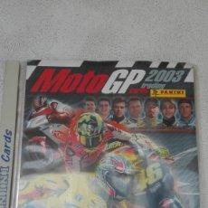 Coleccionismo deportivo: ÁLBUM DE MOTO GP 2003. TRADING CARDS 2003. Lote 180232760