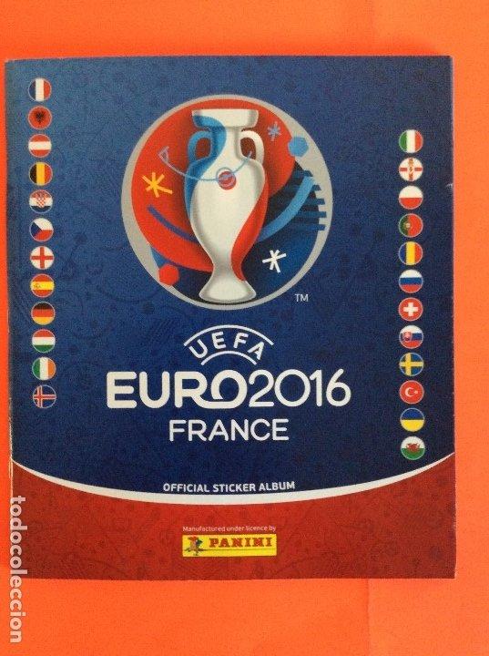 ÁLBUM DE FUTBOL UEFA EURO 2016 -ÁLBUM VACIO NUEVO PLANCHA (Coleccionismo Deportivo - Álbumes otros Deportes)
