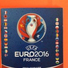 Coleccionismo deportivo: ÁLBUM DE FUTBOL UEFA EURO 2016 -ÁLBUM VACIO NUEVO PLANCHA. Lote 262860215