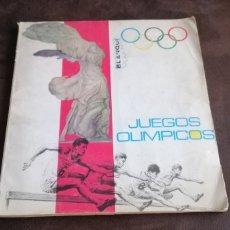 Coleccionismo deportivo: JUEGOS OLÍMPICOS 1968 DIFUSORA DE CULTURA ALBUM TODO EN FOTOS . Lote 180389498