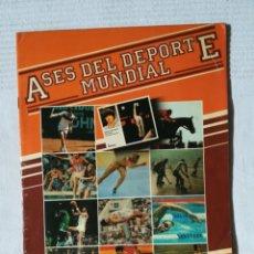 Coleccionismo deportivo: ÁLBUM ASES DEL DEPORTE MUNDIAL 1983 CASI VACÍO. Lote 181903367