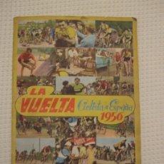 Coleccionismo deportivo: ÁLBUM DE CROMOS LA VUELTA CICLISTA A ESPAÑA 1956-EDITORIAL FHER- COMPLETO. Lote 182523598