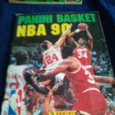 Coleccionismo deportivo: PANINI BASKET NBA 90 COMPLETO. Lote 182694562