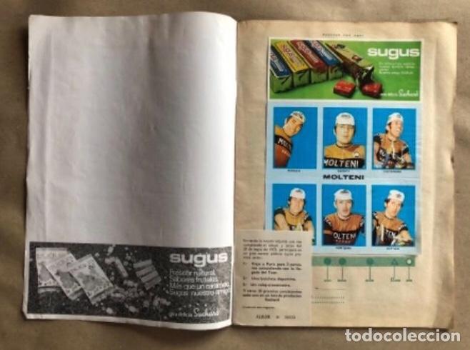 Coleccionismo deportivo: ÁLBUM CICLISTA COMPLETO. GACETA DEL NORTE Y CHOCOLATE SUCHARD.1973. VUELTA ESPAÑA - Foto 2 - 183344216
