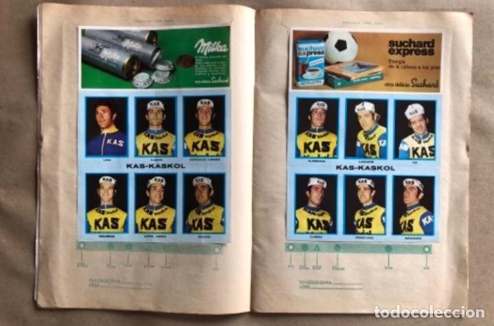 Coleccionismo deportivo: ÁLBUM CICLISTA COMPLETO. GACETA DEL NORTE Y CHOCOLATE SUCHARD.1973. VUELTA ESPAÑA - Foto 4 - 183344216
