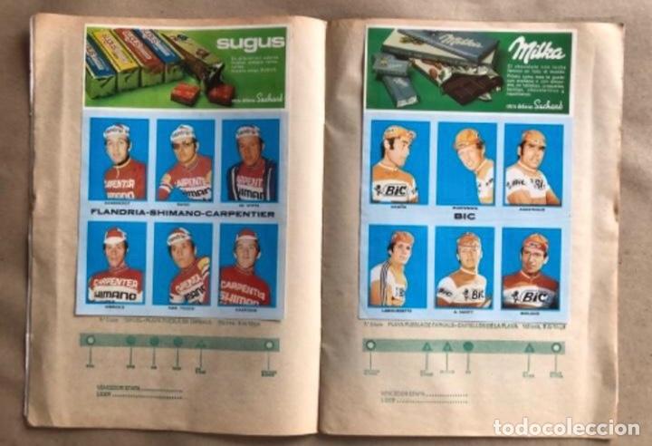 Coleccionismo deportivo: ÁLBUM CICLISTA COMPLETO. GACETA DEL NORTE Y CHOCOLATE SUCHARD.1973. VUELTA ESPAÑA - Foto 5 - 183344216