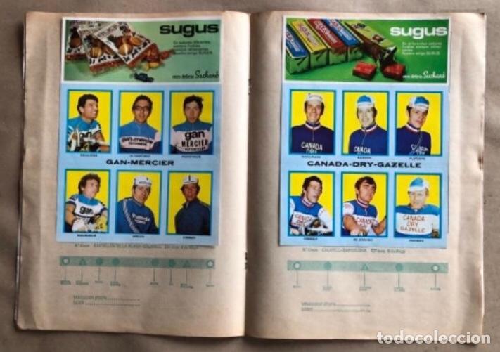 Coleccionismo deportivo: ÁLBUM CICLISTA COMPLETO. GACETA DEL NORTE Y CHOCOLATE SUCHARD.1973. VUELTA ESPAÑA - Foto 6 - 183344216