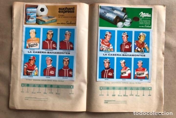 Coleccionismo deportivo: ÁLBUM CICLISTA COMPLETO. GACETA DEL NORTE Y CHOCOLATE SUCHARD.1973. VUELTA ESPAÑA - Foto 7 - 183344216