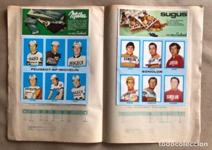 Coleccionismo deportivo: ÁLBUM CICLISTA COMPLETO. GACETA DEL NORTE Y CHOCOLATE SUCHARD.1973. VUELTA ESPAÑA - Foto 8 - 183344216
