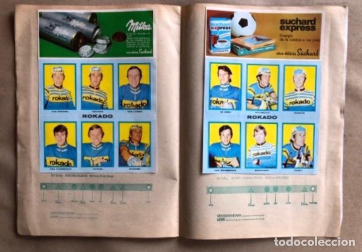 Coleccionismo deportivo: ÁLBUM CICLISTA COMPLETO. GACETA DEL NORTE Y CHOCOLATE SUCHARD.1973. VUELTA ESPAÑA - Foto 9 - 183344216