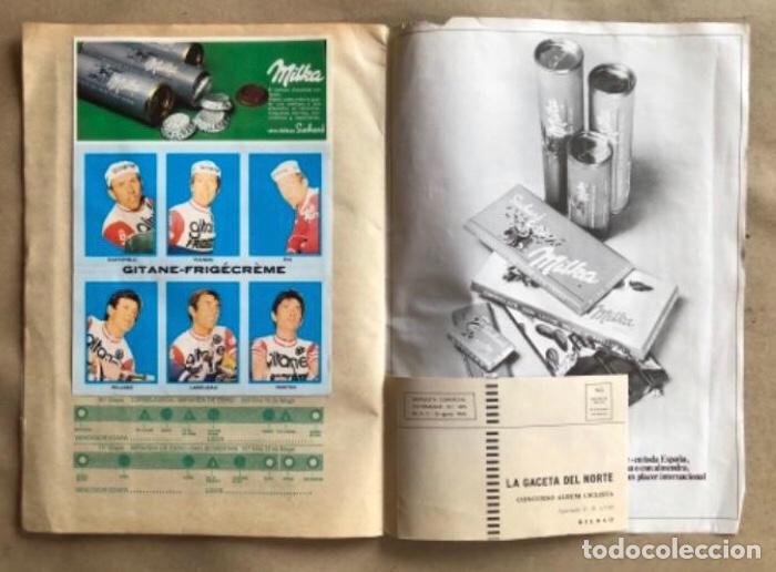 Coleccionismo deportivo: ÁLBUM CICLISTA COMPLETO. GACETA DEL NORTE Y CHOCOLATE SUCHARD.1973. VUELTA ESPAÑA - Foto 10 - 183344216