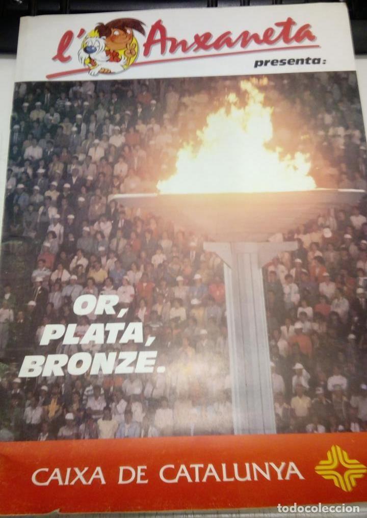 ALBUM DE CROMOS COMPLET - L' ANXANETA PRESENTA OR, PLATA, BRONZE - CAIXA DE CATALUNYA 1988 (Coleccionismo Deportivo - Álbumes otros Deportes)