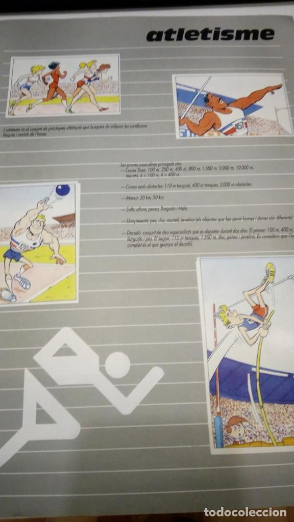 Coleccionismo deportivo: ALBUM de cromos complet - l anxaneta presenta or, plata, bronze - caixa de catalunya 1988 - Foto 2 - 183801632