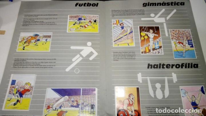 Coleccionismo deportivo: ALBUM de cromos complet - l anxaneta presenta or, plata, bronze - caixa de catalunya 1988 - Foto 3 - 183801632