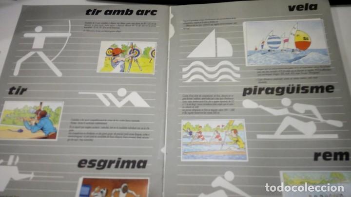 Coleccionismo deportivo: ALBUM de cromos complet - l anxaneta presenta or, plata, bronze - caixa de catalunya 1988 - Foto 4 - 183801632