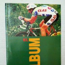 Coleccionismo deportivo: CLAS: EL ÁLBUM DE CROMOS, COMPLETO. CICLISMO. Lote 184006353