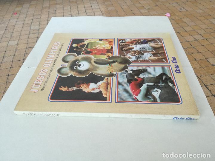 Coleccionismo deportivo: Album de CROMOS JUEGOS OLÍMPICOS MOSCÚ 80 1980 COLA-CAO nutrexpa - vacio - Foto 2 - 185279146