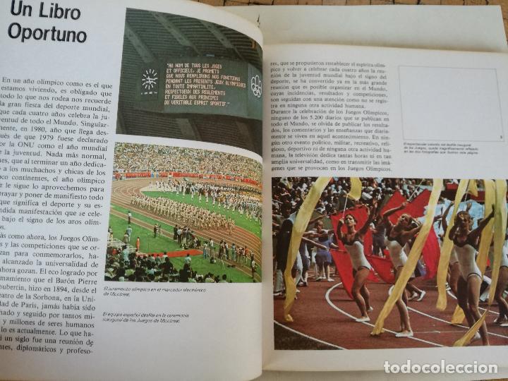 Coleccionismo deportivo: Album de CROMOS JUEGOS OLÍMPICOS MOSCÚ 80 1980 COLA-CAO nutrexpa - vacio - Foto 5 - 185279146