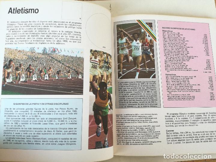Coleccionismo deportivo: Album de CROMOS JUEGOS OLÍMPICOS MOSCÚ 80 1980 COLA-CAO nutrexpa - vacio - Foto 6 - 185279146