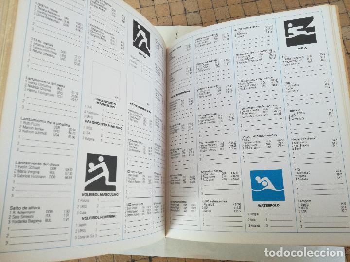 Coleccionismo deportivo: Album de CROMOS JUEGOS OLÍMPICOS MOSCÚ 80 1980 COLA-CAO nutrexpa - vacio - Foto 9 - 185279146
