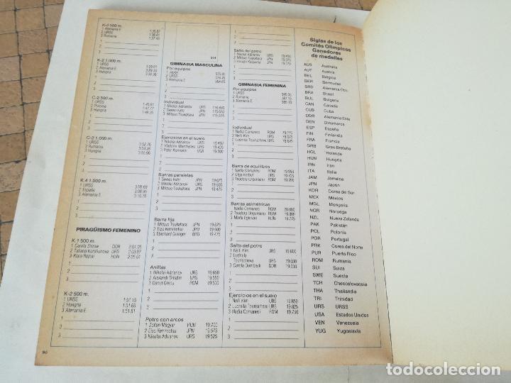 Coleccionismo deportivo: Album de CROMOS JUEGOS OLÍMPICOS MOSCÚ 80 1980 COLA-CAO nutrexpa - vacio - Foto 10 - 185279146