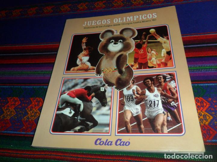Coleccionismo deportivo: MONTREAL 1976 HISTORIA DE LOS JUEGOS OLÍMPICOS COMPLETO 84 CROMOS. COCA COLA. REGALO VACÍO COLA CAO. - Foto 3 - 85038768