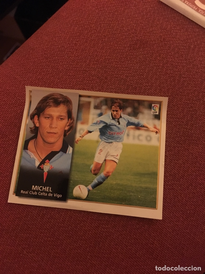 ESTE 98 99 1998 1999 VENTANILLA CELTA DE VIGO MICHEL (Coleccionismo Deportivo - Álbumes otros Deportes)