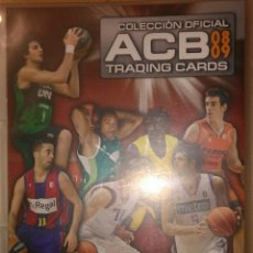 Coleccionismo deportivo: ÁLBUM COMPLETO ACB 08 09 BALONCESTO 362 TRADING CARDS PANINI 2008 2009 PERFECTO NO NBA. Lote 187445332