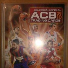 Coleccionismo deportivo: ÁLBUM COMPLETO ACB 09 10 BALONCESTO 362 TRADING CARDS PANINI 2009 2010 PERFECTO NO NBA. Lote 187445580
