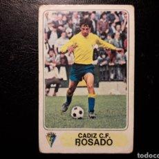 Coleccionismo deportivo: ROSADO CÁDIZ. PACOSA 2. 77 78 1977-1978. SIN PEGAR. VER FOTOS DE FRONTAL Y TRASERA. Lote 188749928