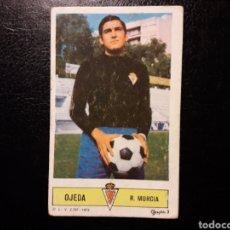 Coleccionismo deportivo: OJEDA MURCIA. ESTE 1973-1974 73-74. SIN PEGAR. VER FOTOS DE FRONTAL Y TRASERA. Lote 189385830
