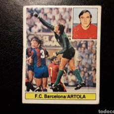Coleccionismo deportivo: ARTOLA FC BARCELONA. ESTE 1981-1982 81-82. DESPEGADO. VER FOTOS DE FRONTAL Y TRASERA. Lote 189433932