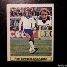 Coleccionismo deportivo: CASAJUST ZARAGOZA. ESTE 1981-1982 81-82. DESPEGADO. VER FOTOS DE FRONTAL Y TRASERA. Lote 211266155
