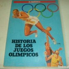 Collezionismo sportivo: (LLL)ALBUM CROMOS HISTORIA DE LOS JUEGOS OLIMPICOS-COMPLETO Y MUY BUEN ESTADO. Lote 189533703