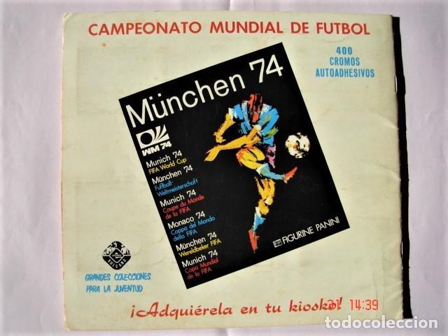 Coleccionismo deportivo: ÁLBUM SPRINT 74 INCOMPLETO DE EDICIONES VULCANO-PANINI. AÑO 1974 - Foto 2 - 189634882