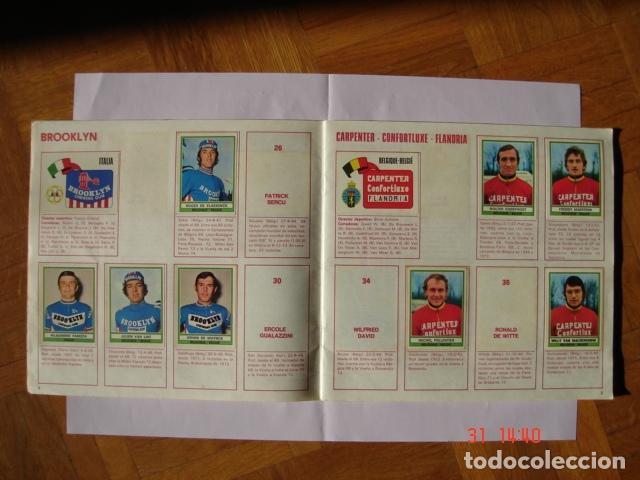 Coleccionismo deportivo: ÁLBUM SPRINT 74 INCOMPLETO DE EDICIONES VULCANO-PANINI. AÑO 1974 - Foto 5 - 189634882