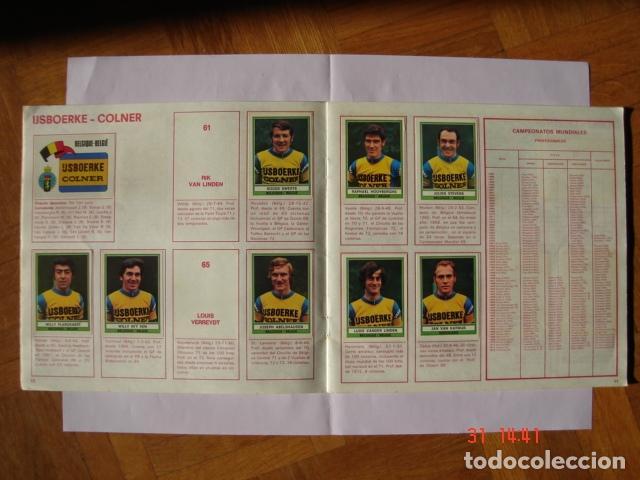 Coleccionismo deportivo: ÁLBUM SPRINT 74 INCOMPLETO DE EDICIONES VULCANO-PANINI. AÑO 1974 - Foto 8 - 189634882
