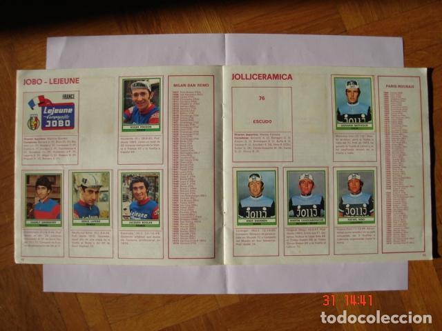 Coleccionismo deportivo: ÁLBUM SPRINT 74 INCOMPLETO DE EDICIONES VULCANO-PANINI. AÑO 1974 - Foto 9 - 189634882