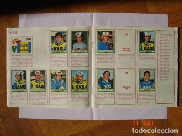 Coleccionismo deportivo: ÁLBUM SPRINT 74 INCOMPLETO DE EDICIONES VULCANO-PANINI. AÑO 1974 - Foto 10 - 189634882