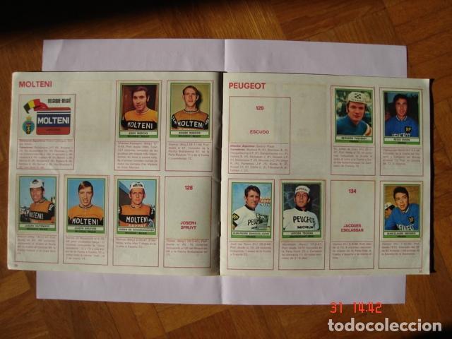Coleccionismo deportivo: ÁLBUM SPRINT 74 INCOMPLETO DE EDICIONES VULCANO-PANINI. AÑO 1974 - Foto 13 - 189634882